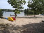 Bucks Pond Beach across the street - Harwich Cape Cod New England Vacation Rentals
