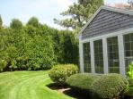 Side view of Sunroom - 58 Longs Lane Chatham Cape Cod New England Vacation Rentals