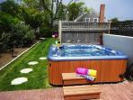 SOak in the Hot Tub - 201 Main Street Chatham Cape Cod New England Vacation Rentals