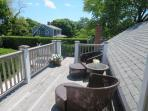 Roof top deck - 415 Main Street Chatham Cape Cod New England Vacation Rentals