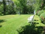 Large backyard - great for a game of badminton!  - 5 Ocean Street South Harwich Cape Cod New England Vacation Rentals