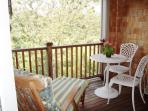 Private screened in balcony to master suite - 138 Soundview Avenue Chatham Cape Cod New England Vacation Rentals