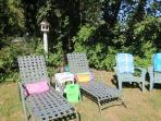 Read, watch the birds, or take a nap. You will certainly unwind and relax in the back yard - 14 Capri Lane Chatham Cape...