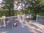 Seating for 6 at the table - 1789 Main Street Chatham Cape Cod New England Vacation Rentals