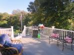Gas grill provided for out door barbecuing - 1789 Main Street Chatham Cape Cod New England Vacation Rentals
