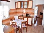 kitchen in the apartman