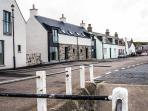 244 Seatown Cullen. The house is directly opposite the harbour. Wonderful views .