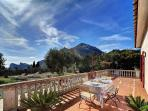 The amazing terrace!!