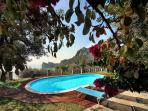 The pool is open from 1st May until 31st October, and measures 10m by 5m