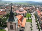 UNESCO - Levoca a beautiful medieval town.  Walking, cycling, skiing and horse riding are available.