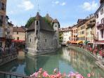 6 km : Annecy : la vieille ville