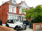 Front of house. Perfect accommodation for wedding guests