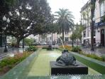 Plaza Hurtado de Mendoza. Historic places in Triana. (Within 5 min. walk from Casa Toledo)