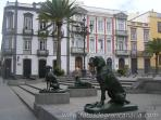 Plaza de Santa Ana. Historic places near Vegueta. (Within 5 min. walk from Casa Toledo)