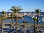 Los Alcazares promenade and Mar Menor. A great place to stroll. (15 mins walk from apartment)