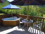 Bath on Private Decking