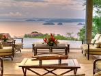 View of Gulf of Papagayo from Terrace Seating Area