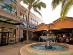 10 minute walk to the Kailua Town Center