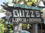 10 minute walk to the famous Buzz's  don't forget to try their Lilikoi Passion