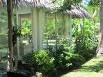 Patio to bedroom garden view