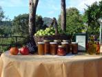 Our farm produce  - all 100% organic