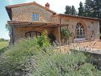 Idyllic villa in Tuscan villa with 7 bedrooms, private swimming pool, garden, terrace and amazing views