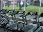 burn off the calories in the well equiped fitness suite