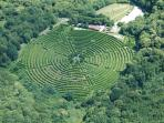 Le labyrinthe végétal le plus grand d'europe! Parc de loisirs de proximité.