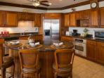 Great Room Mahogany Kitchen Sept 2014