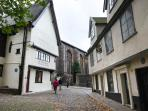 Medieval streets of Norwich