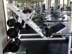 Fully equipped Club Gym on Island