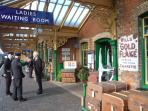 Step back in time at the Poppy Line steam railway, just round the corner...