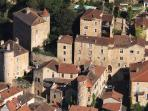 Ariel view of Puy L'Eveque