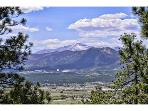 Colorado Views of Air Force Academy and Pikes Peak
