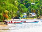 Fishing boats in laborie