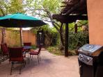 Additional shot of downstairs patio and BBQ grill