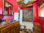 Master bathroom with shower/tub combo