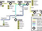 Transport links to Euston