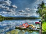 lago di Posta Fibreno a 2,5km dalla casa