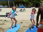Best waves to learn how to surf!