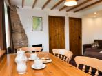 Stable Cottage Lounge/Dining area