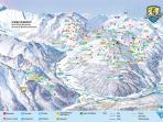 Pistenplan der Mayrhofner Bergbahnen | Foto: Mayrhofen