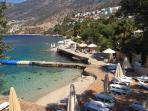 The Beach Club just below the villa - free membership for villa guests & water taxi to town for 10TL