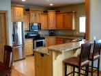 Full Kitchen with high-end stainless appliances