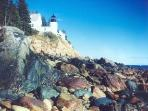Lighthouse in Acadia National Park