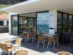 Restaurant and explanade