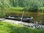 Boat Available for rent, Canoe is included