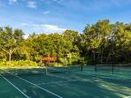 On resort Tennis Courts