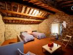 Double bedroom 3 _ into the medieval tower