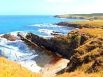 beautiful coast 60 km from the villa